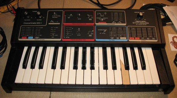 Realistic MG-1 Synthesizer Restoration Project | Working Title