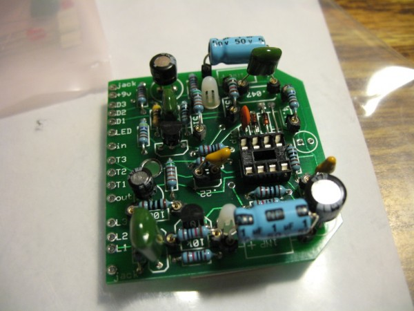 BYOC overdrive circuit board