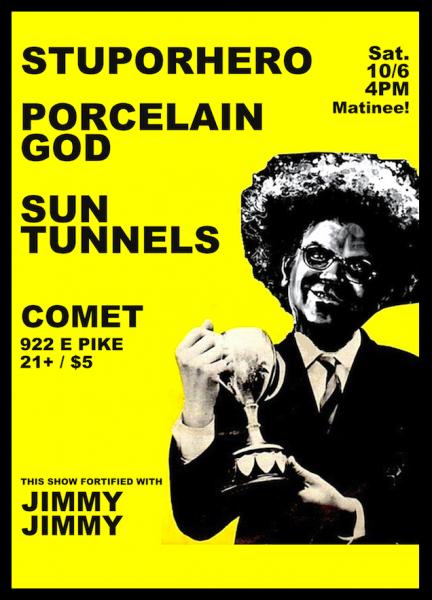 Sun Tunnels @ Comet 10/6/2012