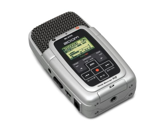 Zoom H2 flash recorder