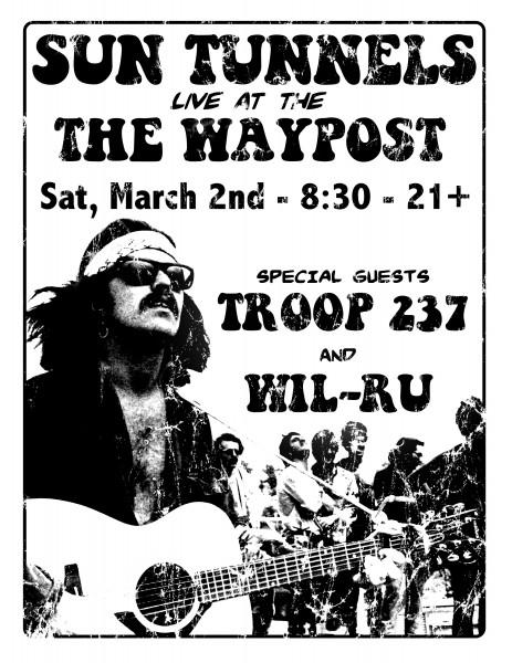 Sun Tunnels @ Waypost - 3/2/2013